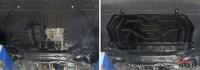 Защита картера двигателя Outlander 3 сталь 2мм