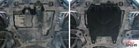 Защита картера двигателя ASX сталь 2мм