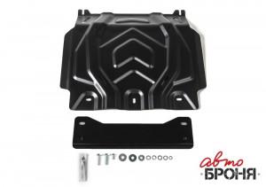 Защита картера Pajero Sport 3 QX сталь 3 мм