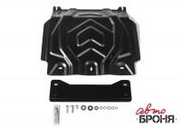 Защита картера Pajero Sport 3 QX сталь 2 мм
