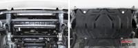 Защита радиатора Pajero Sport 3 QX сталь 3 мм