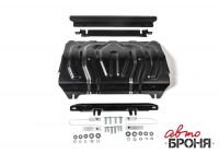 Защита радиатора Pajero Sport 3 QX сталь 2 мм