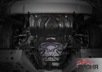 Комплект защит радиатор, картер, КПП и РК Mitsubishi L200 V сталь 3 мм