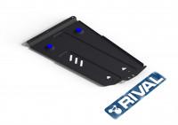 Защита раздатки PAJERO 4 сталь 2 мм