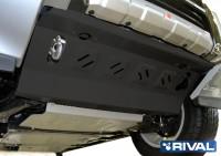 Защита радиаторов PAJERO 4 сталь 2 мм