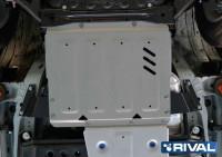Защита РКП PAJERO 4 алюминиевая 4 мм (Копировать)