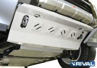 Защита радиаторов PAJERO 4 алюминиевая 4 мм