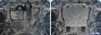 Защита картера двигателя Outlander 2 XL алюминиевая