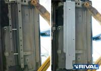 Алюминиевая защита топливных трубок Outlander 3 4WD