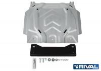 Защита картера Pajero Sport 3 QX алюминий 4 мм