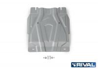 Защита КПП Pajero Sport 3 QX алюминий 4 мм