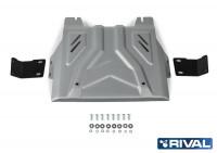 Защита РКП Mitsubishi L200 V алюминий 4 мм