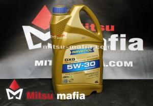 Масло в двигатель 5w30 Ravenol для Митсубиси АСХ 4 литра