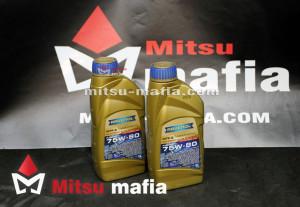 Масло Ravenol MTF-2 SAE 75W-80 в МКПП Mitsubishi Lancer X 1 литр