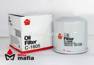 Масляный фильтр Митсубиси Паджеро 4 3.0 3.8 бензин Sakura