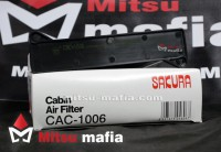 Салонный фильтр Митсубиси Паджеро Спорт 2 угольный Sakura