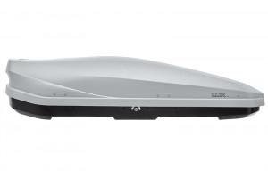 Бокс LUX IRBIS 450L серый матовый на крышу Mitsubishi Pajero 4