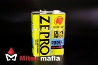 Масло в двигатель ZEPRO DIESEL 5w30 DL-1 IDEMITSU 4 литра