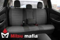 Чехлы экокожа для Mitsubishi L200 V