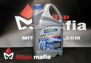 Масло Ravenol MM SP-III Fluid для АКПП Pajero Sport 2 4 литра