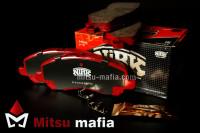 Тормозные колодки передние Митсубиси Аутлендер 3 NIBK Спорт