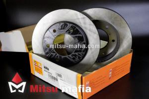 Тормозной диск передний Pajero Sport 2