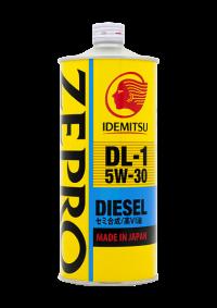 Масло в двигатель ZEPRO DIESEL 5w30 DL-1 IDEMITSU 1 литр