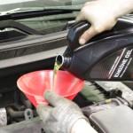 Замена масла в двигателе Mitsubishi