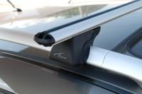 Багажник на рейлинги Outlander 2 XL аэродинамический Lux