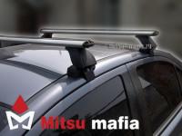 Багажник на крышу Lancer X Lux аэродинамический