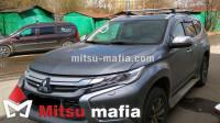Багажник на рейлинги Pajero Sport 3 Lux аэродинамический