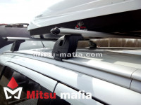 Багажник на рейлинги Outlander 3 Lux аэродинамический
