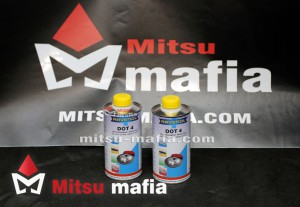 Тормозная жидкость Ravenol DOT4 для Pajero Sport 2 0,5 литра