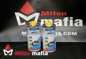 Тормозная жидкость Ravenol DOT4 для Митсубиси Л200 V 1 литр