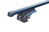 Багажник на рейлинги Паджеро 4 стальной Lux Elegant