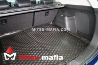 Коврик в багажник Outlander III Аутлендер 3 с органайзером
