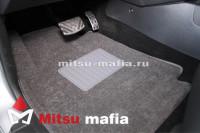 Текстильные коврики Паджеро 4 серые