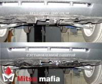 Защита картера двигателя ASX АСХ сталь 2мм