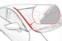 Дефлектор лобового стекла ASX с рейлингами