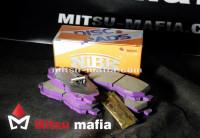 Тормозные колодки передние Митсубиси Лансер 10 NIBK