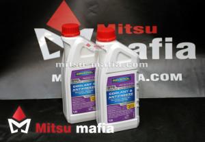 Антифриз Ravenol для Mitsubishi Pajero 4 1.5 литра