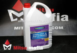 Антифриз Ravenol для Митсубиси Паджеро Спорт 3 5 литров