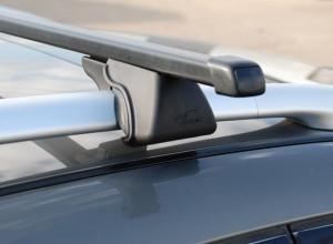 Багажник на рейлинги Паджеро 4 Lux