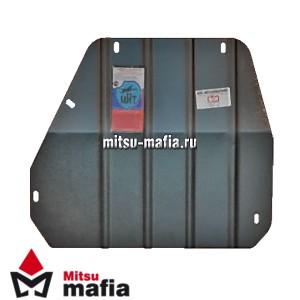 Защита раздатки PAJERO SPORT Паджеро Спорт сталь 3 мм МКПП